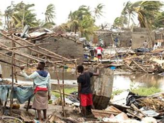 Damage caused by Cyclone Idai