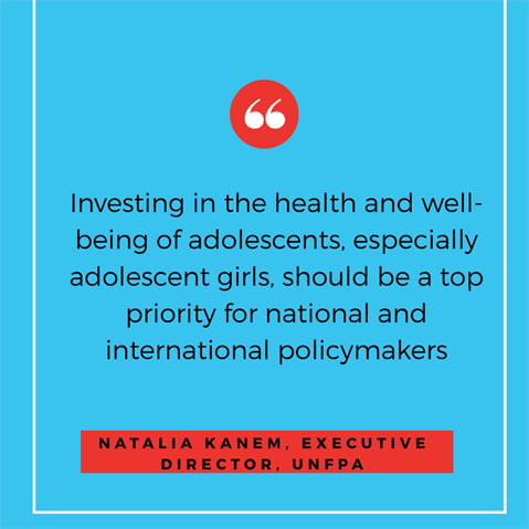 Coming of age- Adolescent health