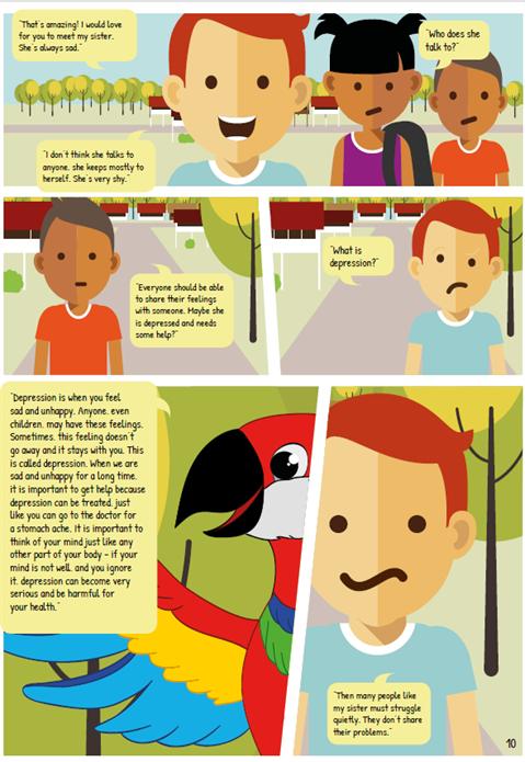 Adolescentes Comic 3