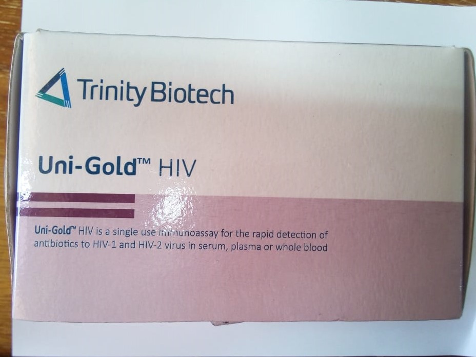 Falsified UniGold HIV Image 3 Alert