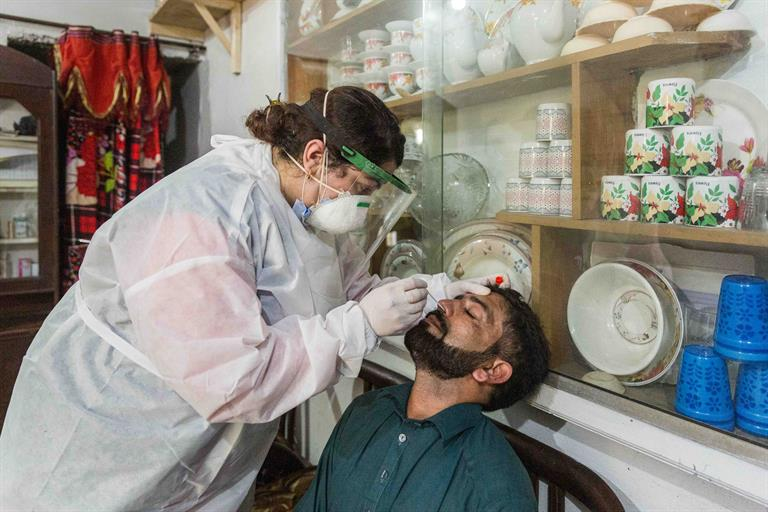 Dr Samreen Khalil, WHO Polio Eradication Officer