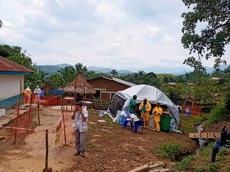 Ebola came quietly to the village of Chowe