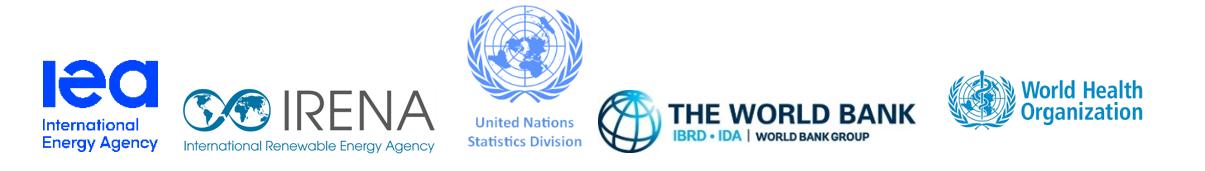 ortak basın açıklaması SDG7 için afiş logolar