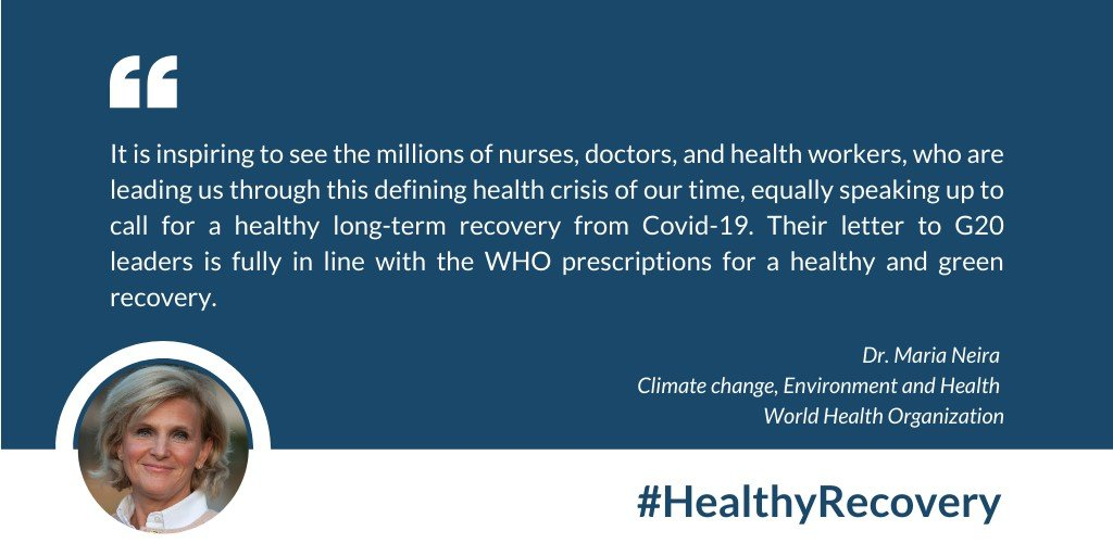 Dr. Maria Neira, Climate Change, Environment and Health, World Health Organization