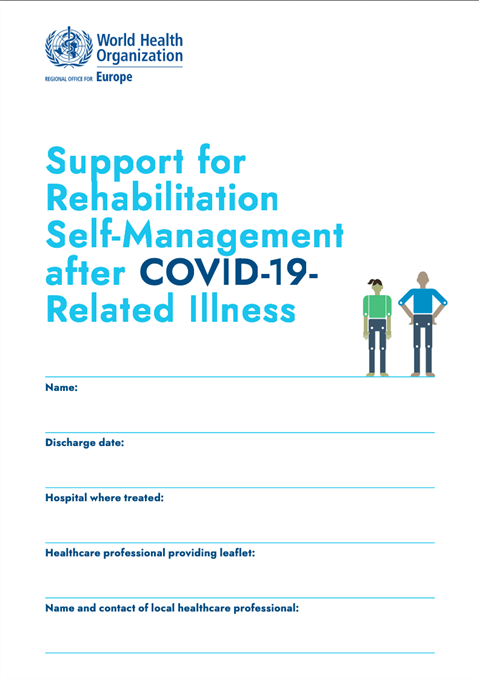 Support for Rehabilitation: Self-Management after COVID-19 ...