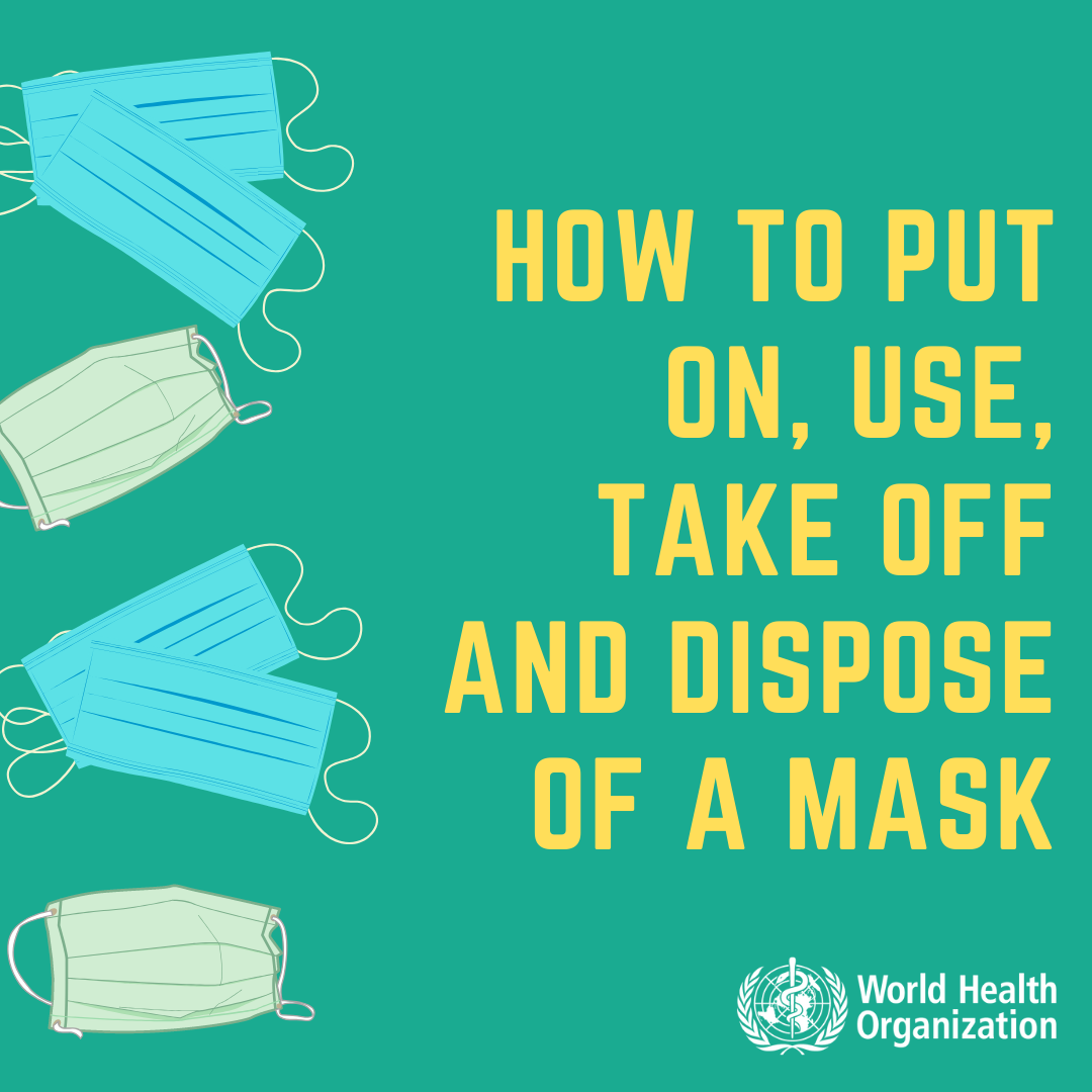 dispose face mask