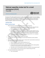 Technical Guidance - Coronavirus disease (COVID-19)