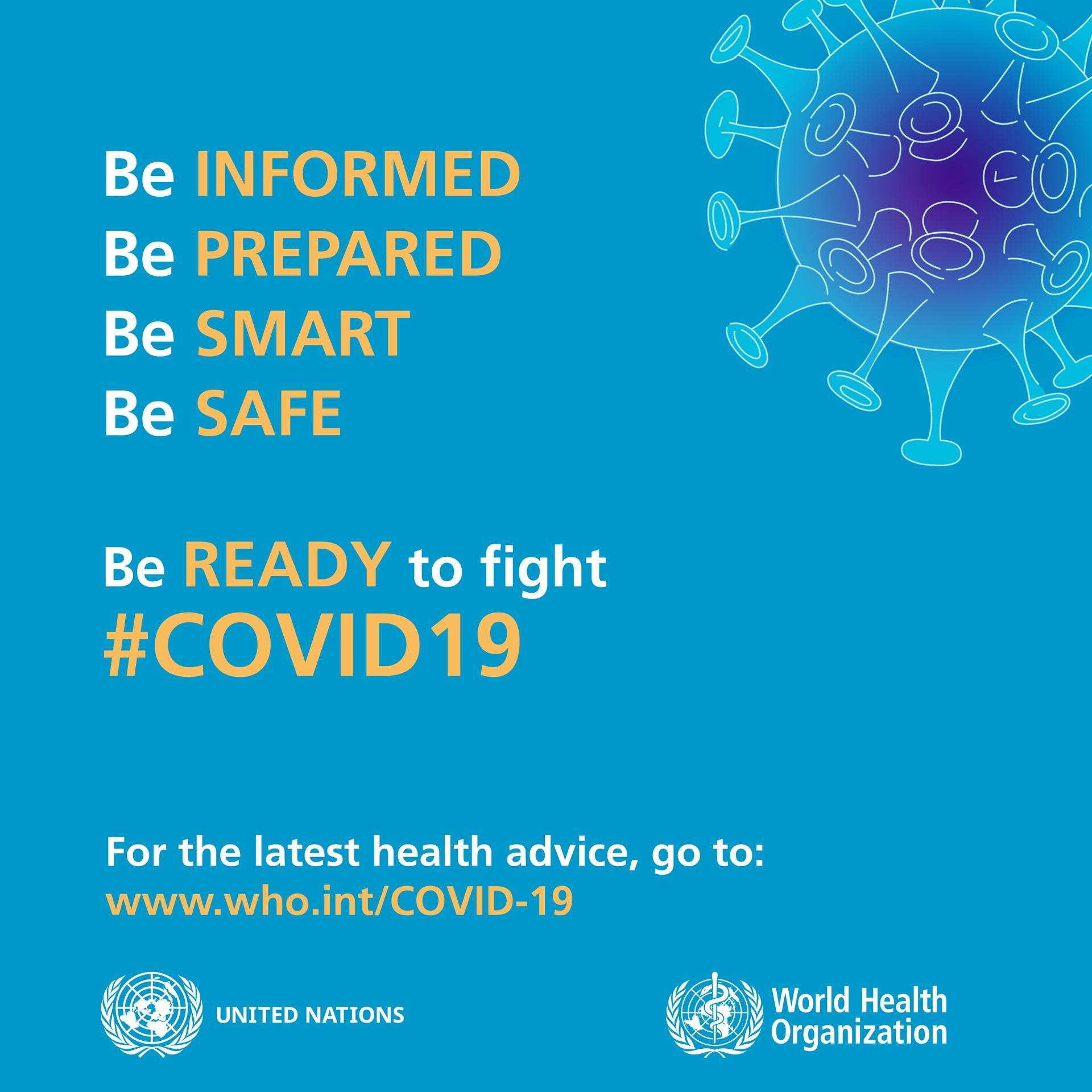 Be Ready Social 1 coronavirus