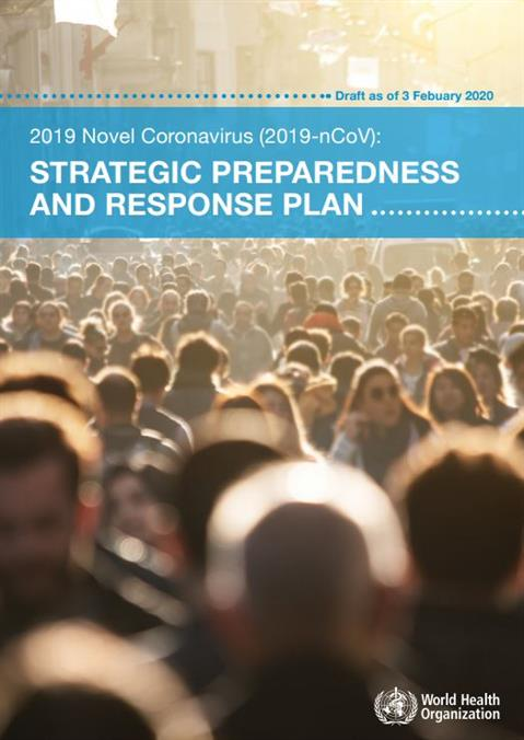 Strategic preparedness and response plan for the new coronavirus