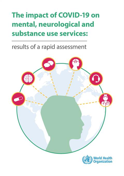 The Impact Of Covid 19 On Mental Neurological And Substance Use Services