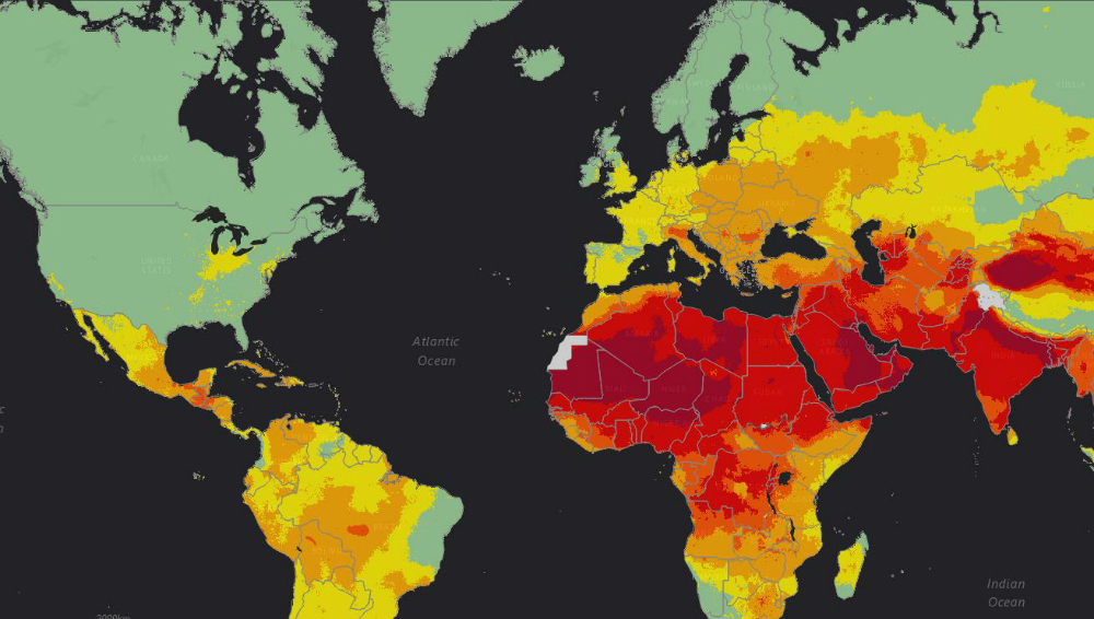 Who Releases Country Estimates On Air Pollution Exposure And Health - Air-pollution-us-map