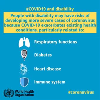 COVID-19 & Disability