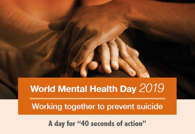 World Mental Health Day 2019 Focus On Suicide Prevention