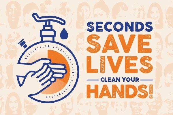 World Hand Hygiene Day 2021: Seconds save lives - clean your hands!