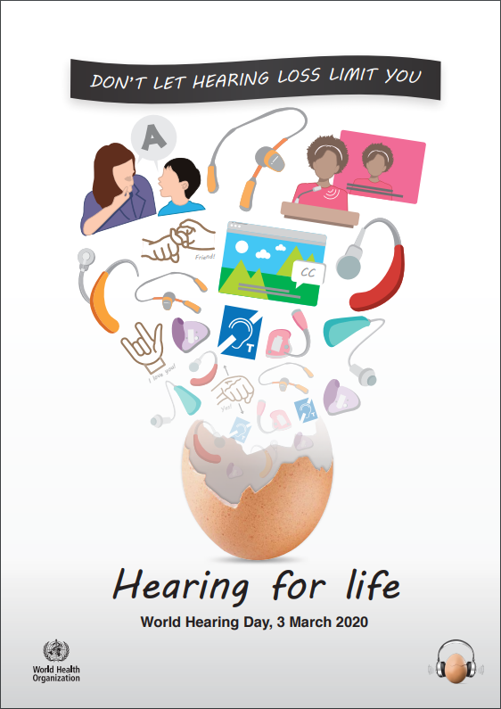 World Hearing Day 2020 Hearing For Life