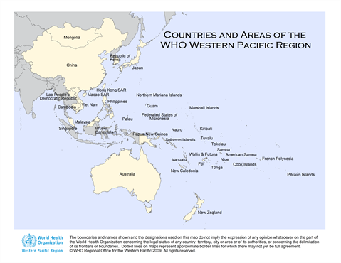 Map Of Southeast Asia Australia And New Zealand.Where We Work