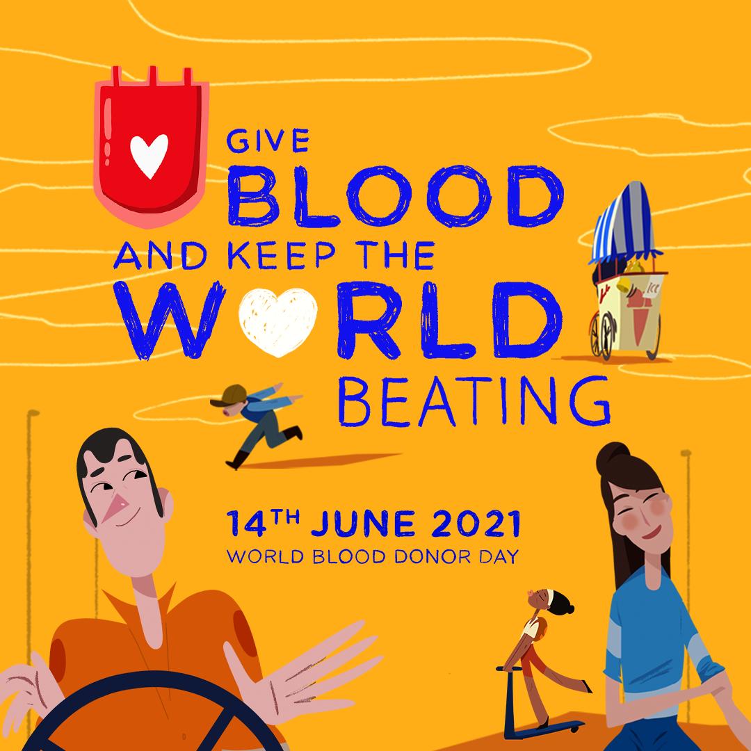 Cho máu và giữ cho thế giới đập