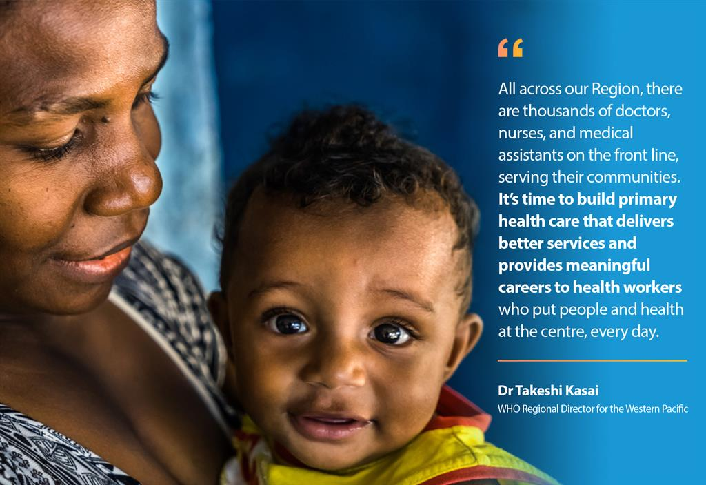 Dr Kasai on primary health care