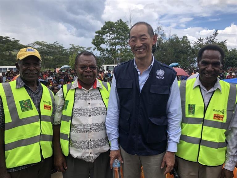 Japan women visit to papua new guinea full tmb