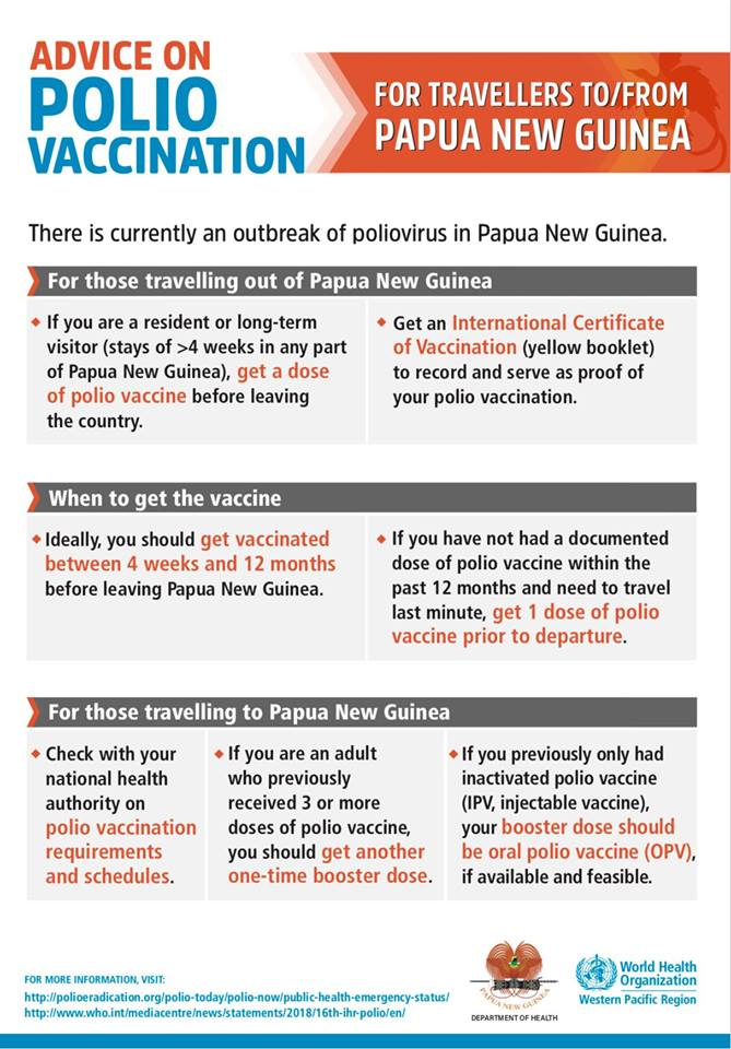 polio vaccination adults