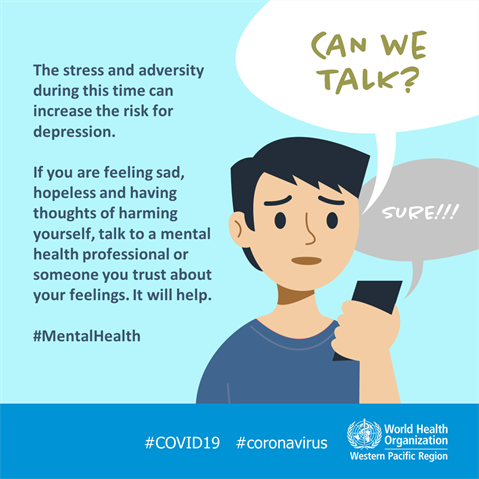 COVID-19 and mental health | WHO Philippines
