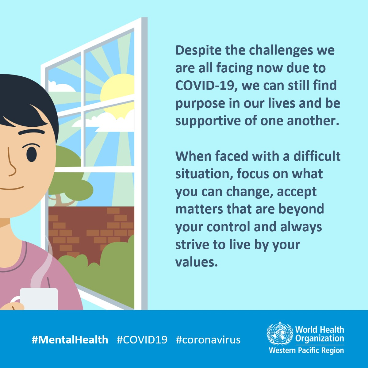 COVID-19 advice - Mental health | WHO Western Pacific